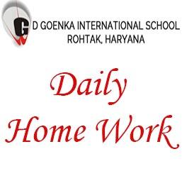 GDGIS Rohtak Homework